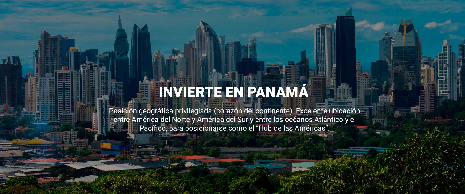 Invierte en Panamá